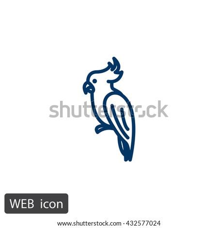 Parrot icon.Parrot icon Vector.Parrot icon Art.Parrot icon eps.Parrot icon Image.Parrot icon logo.Parrot icon Sign.Parrot icon Flat.Parrot icon design.Parrot icon app.Parrot icon UI.icon Parrot web. - stock vector
