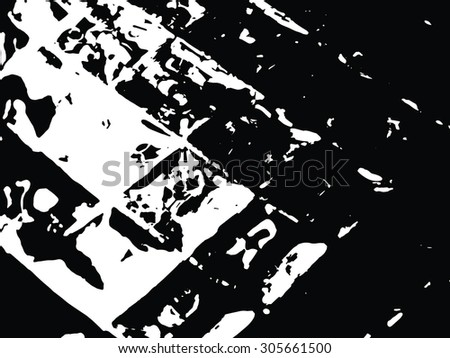 part of a crystal texture - stock vector