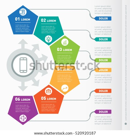 Infographic Ideas infographic template education : Infographic Template Stock Photos, Royalty-Free Images & Vectors ...