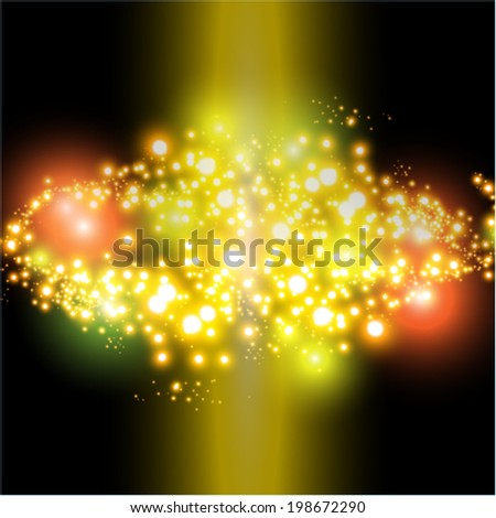 Party abstract background.