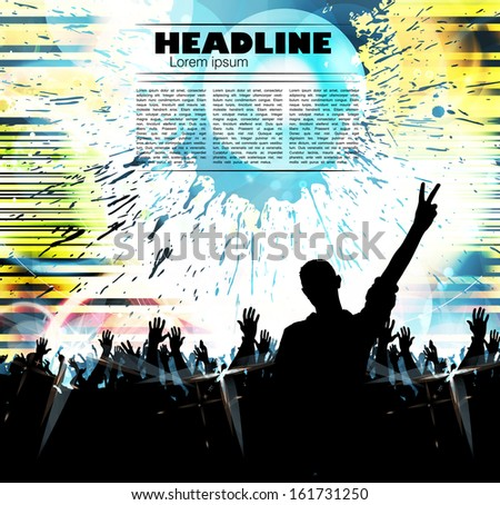 Party Background. Vector - stock vector