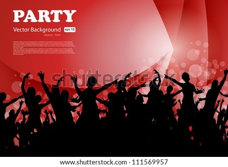 Party Background, Vector EPS10