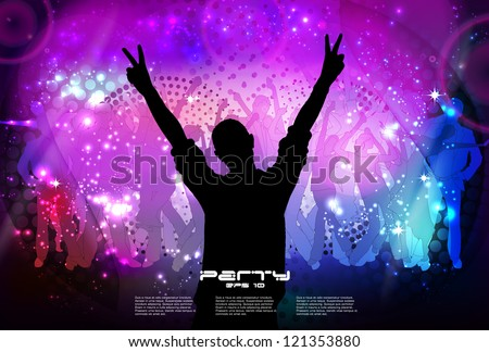 Party Background. Vector Illustration