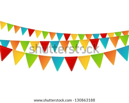 Party background with place for text - stock vector