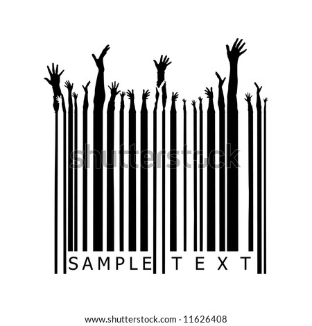 party barcode - stock vector