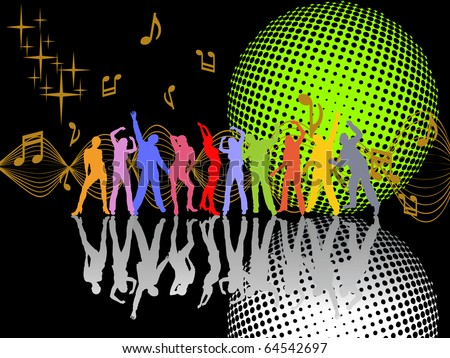 party event - vector - stock vector