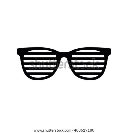 Party glasses icon vector illustration