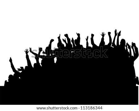 Party group people - stock vector