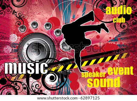 Party poster - stock vector