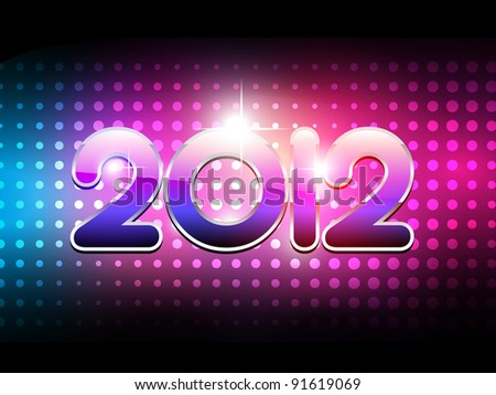 party style happy new year background