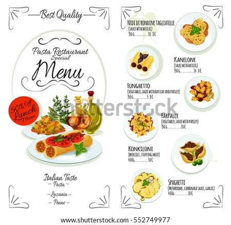 Food banner stock images royalty free images vectors for Italian food list