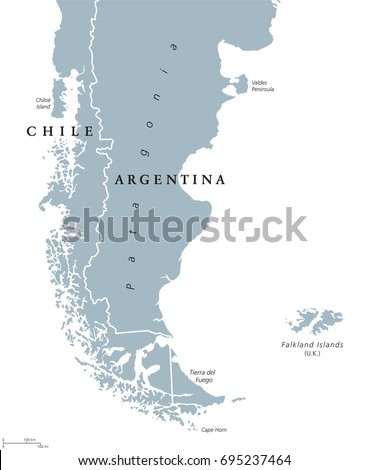 Argentina Map Stock Images RoyaltyFree Images Vectors - Argentina map labeled