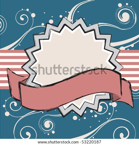 Patriotic Colors Background - stock vector