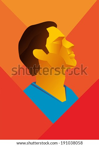 Patriotic Poster - stock vector