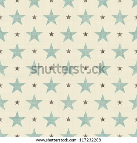 patriotic stars seamless - stock vector