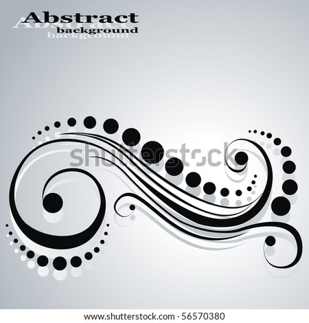 Pattern. Abstract vector background - stock vector