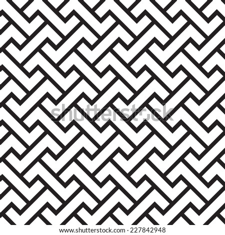Pattern background 16, chevrons pattern  - stock vector