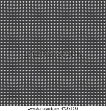 Pattern dots on dark, vector illustration