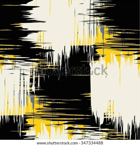 Pattern drapery, scribble, seamless vector background. - stock vector