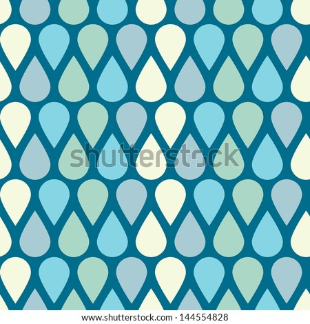 Pattern drops - stock vector