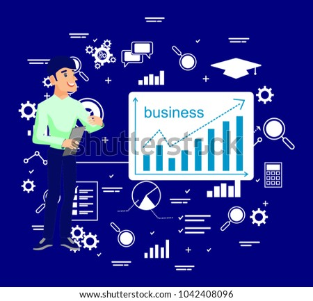 pattern for business background