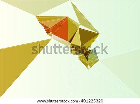 pattern graphic triangle concept