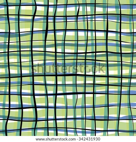 pattern in cage. color net cell. seamless texture - stock vector