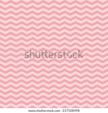 Pattern in pink zigzag  - stock vector