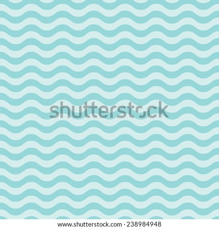Pattern in sky blue wave