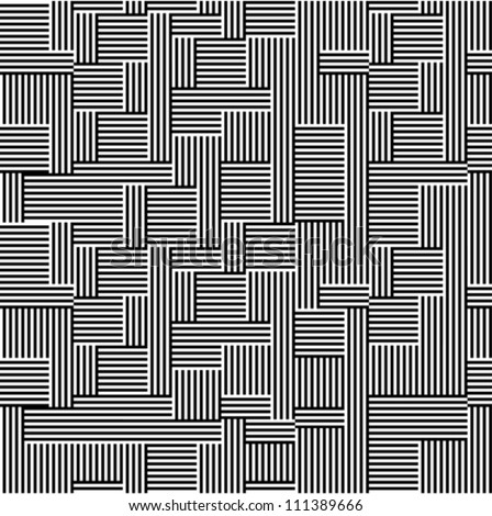 Pattern - line black and white