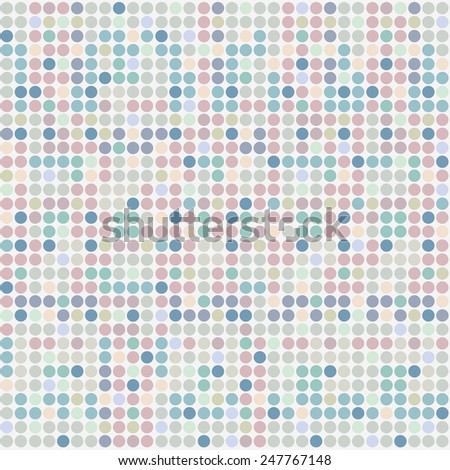 Pattern mosaic tiles texture - stock vector
