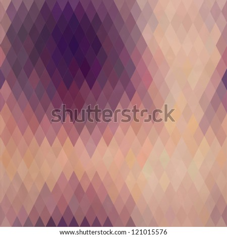 Pattern of geometric shapes, rhombic.Texture with flow of spectrum effect.Geometric background. Copy that  square to the side, the resulting image can be repeated, or tiled, without visible seams.