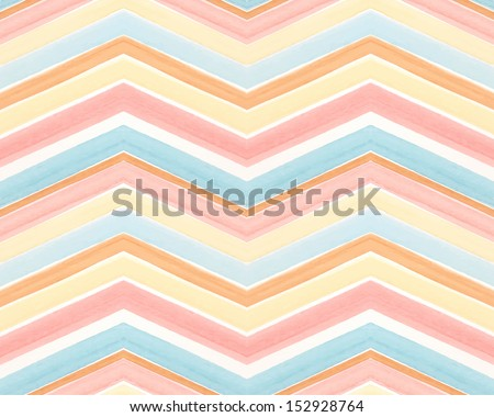 pattern of stripes watercolor - stock vector