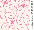 Pattern with butterflies seamless - stock vector