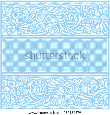 Patterned BackgroundVictorian Ornament And Grunge Effect Blank Invitations Greeting Cards Design