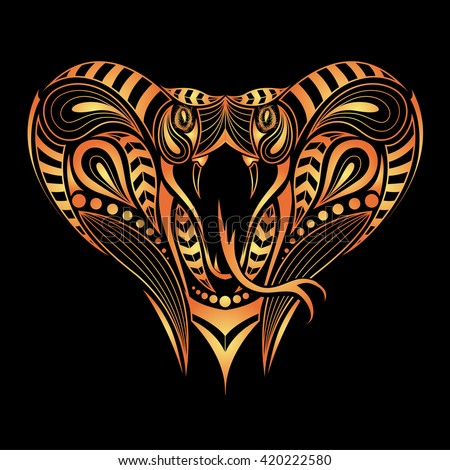 king cobra head logo pictures to pin on pinterest pinsdaddy. Black Bedroom Furniture Sets. Home Design Ideas