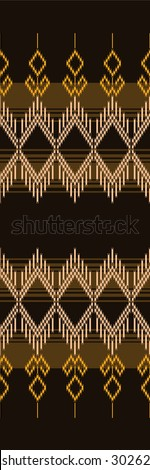 Patterns designs.Tribal style with black and dark brown.
