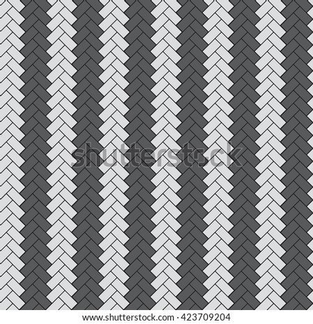paving slabs pattern - stock vector