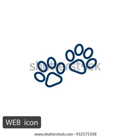 Paw icon.Paw icon Vector.Paw icon Art.Paw icon eps.Paw icon Image.Paw icon logo.Paw icon Sign.Paw icon Flat.Paw icon design.Paw icon app.Paw icon UI.icon Paw web. - stock vector