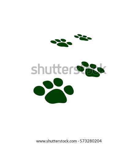 Champion Seal With Dog Paw Print Stock Vector