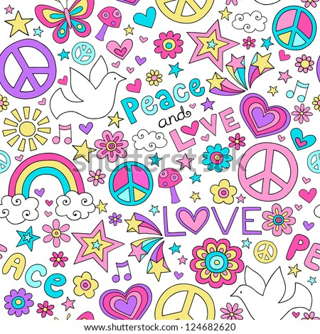 Peace And Love Iphone Wallpaper : Groovy Stock Photos, Images, & Pictures Shutterstock