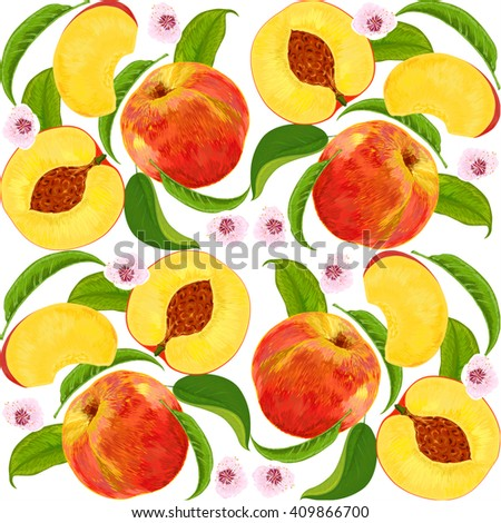 peach repeating pattern