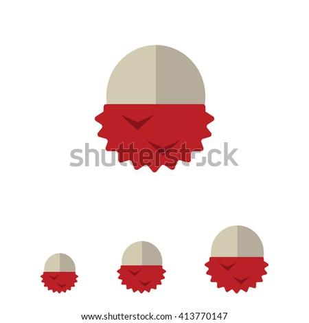 Peeled lychee icon