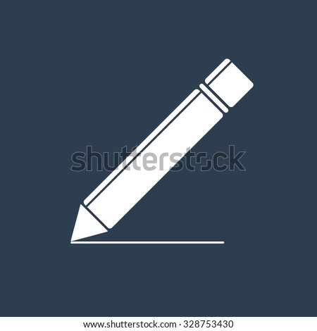 Pen icon. Writing icon. Signature icon. - stock vector