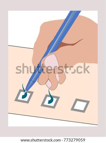 stock-vector-pen-in-hand-ticking-checkli