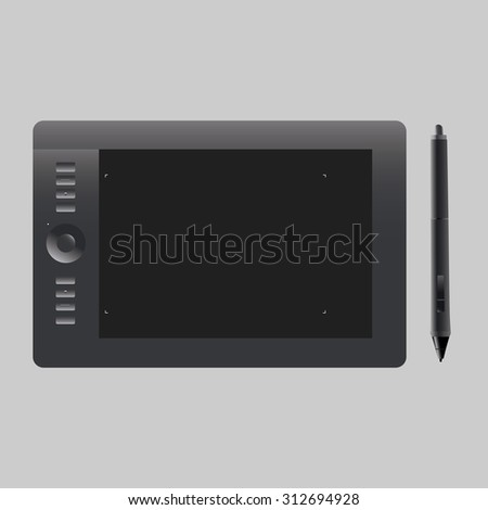 Pen tablet Vector