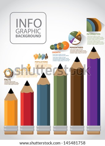 Infographic Ideas easy infographic template : File Folder Infographic Background Template Layout Stock Vector ...