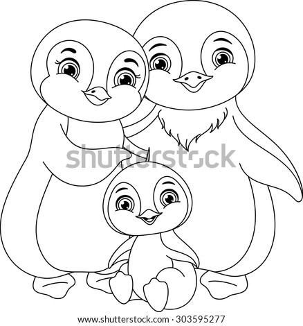 Penguin Family Stock Photos Royalty Free Images Amp Vectors