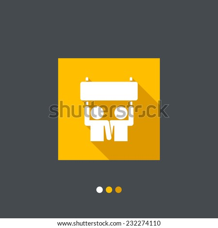 People activism icon - stock vector