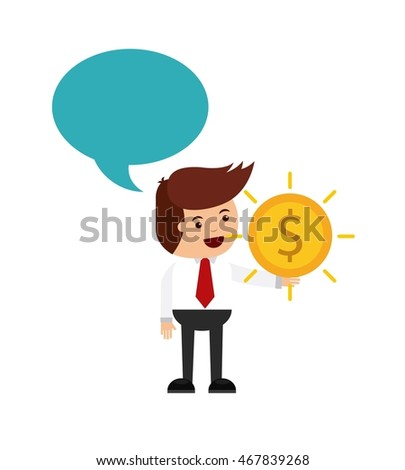 people business finance icon design, vector illustration eps10